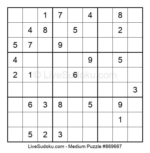 Medium Puzzle #869667