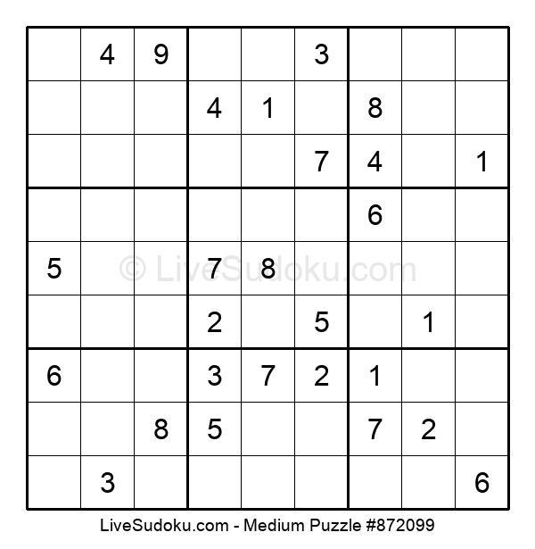 Medium Puzzle #872099