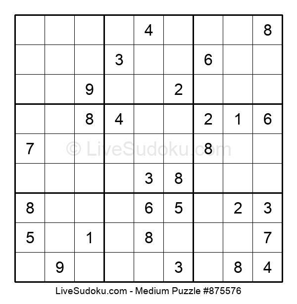 Medium Puzzle #875576