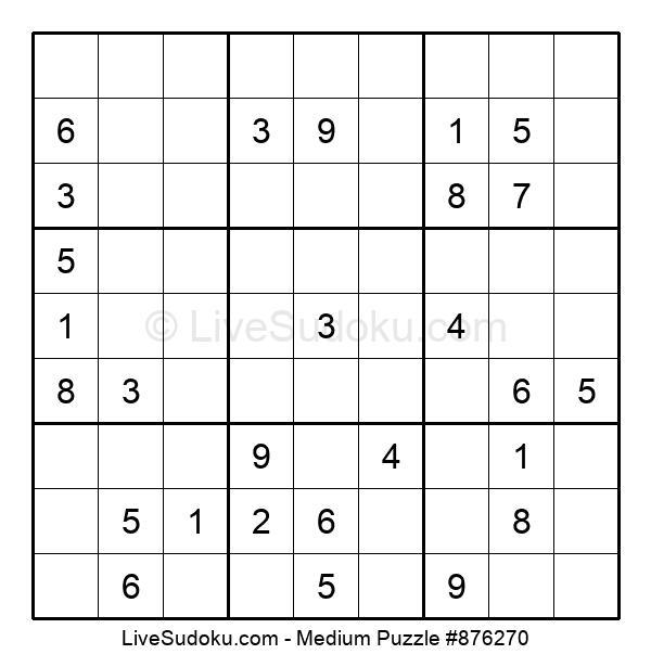 Medium Puzzle #876270