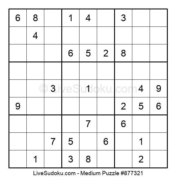 Medium Puzzle #877321