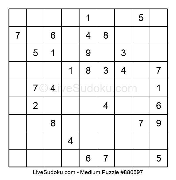 Medium Puzzle #880597