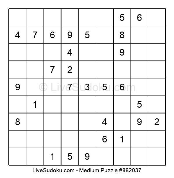 Medium Puzzle #882037