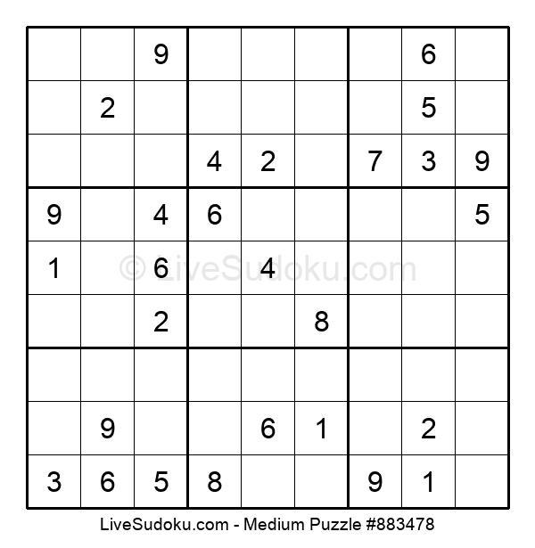 Medium Puzzle #883478