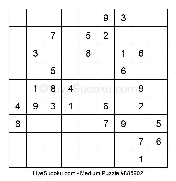 Medium Puzzle #883902