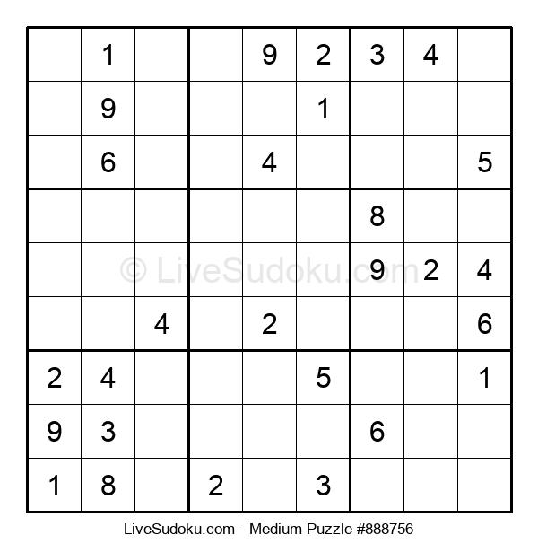 Medium Puzzle #888756