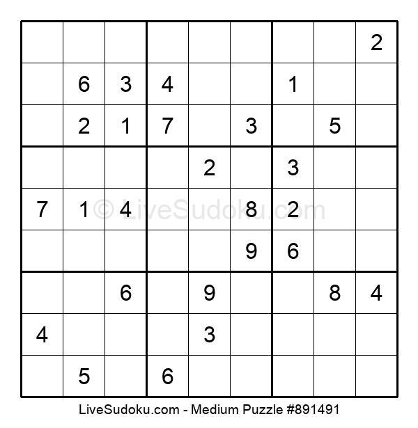 Medium Puzzle #891491