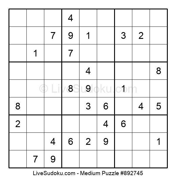 Medium Puzzle #892745
