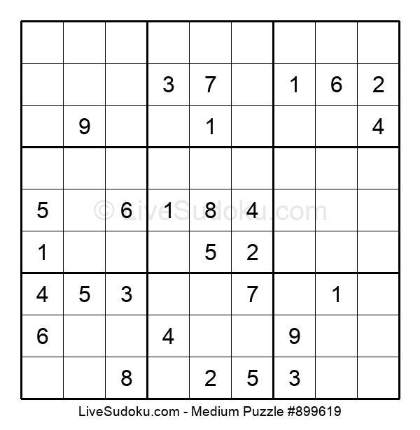 Medium Puzzle #899619
