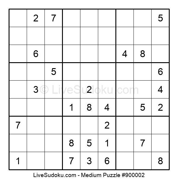 Medium Puzzle #900002