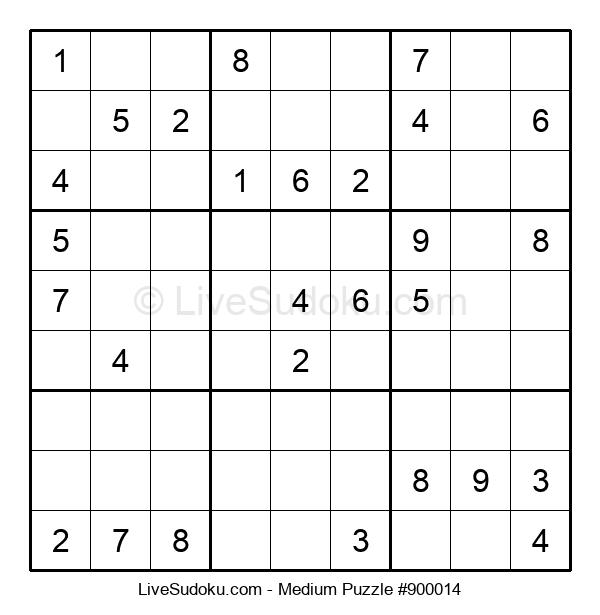 Medium Puzzle #900014