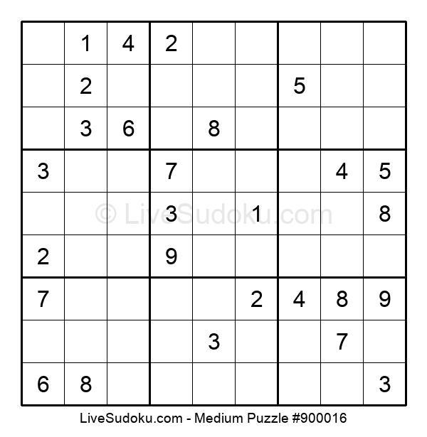 Medium Puzzle #900016