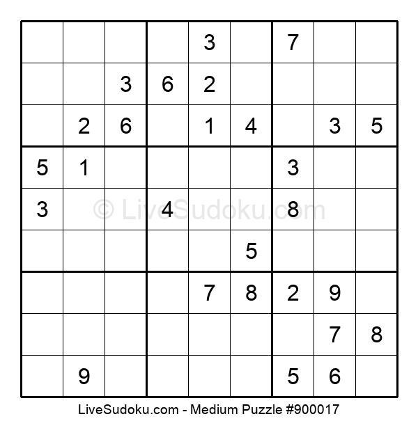 Medium Puzzle #900017