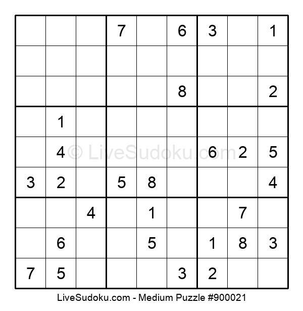 Medium Puzzle #900021