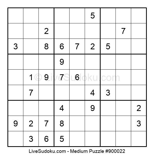 Medium Puzzle #900022