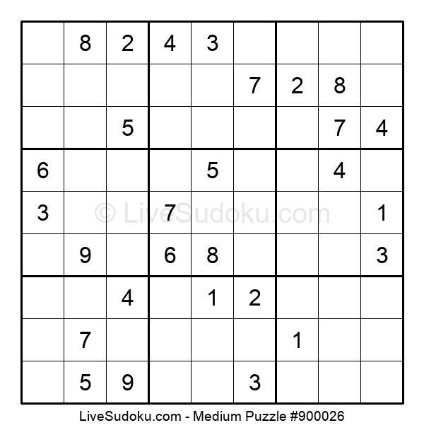 Medium Puzzle #900026