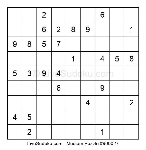 Medium Puzzle #900027