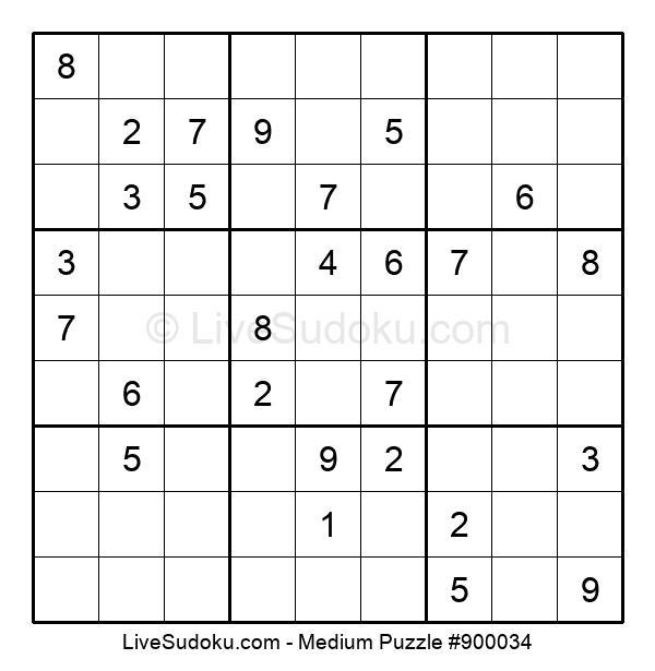 Medium Puzzle #900034