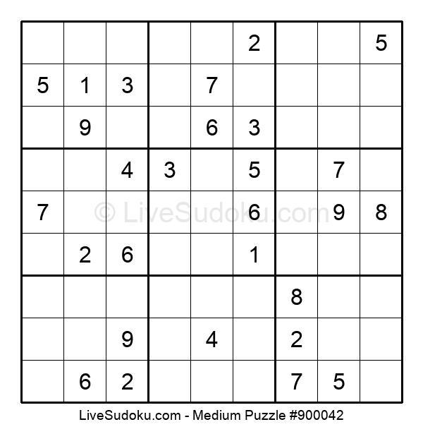Medium Puzzle #900042