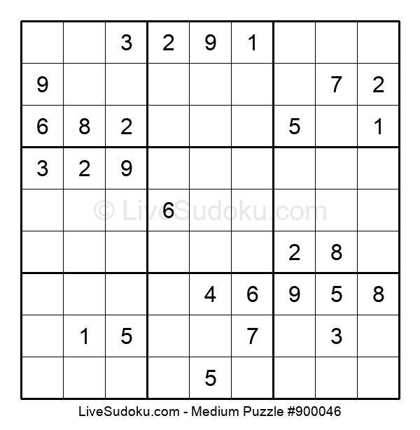 Medium Puzzle #900046