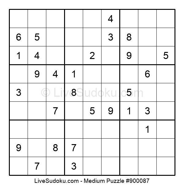 Medium Puzzle #900087