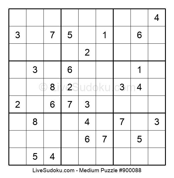 Medium Puzzle #900088