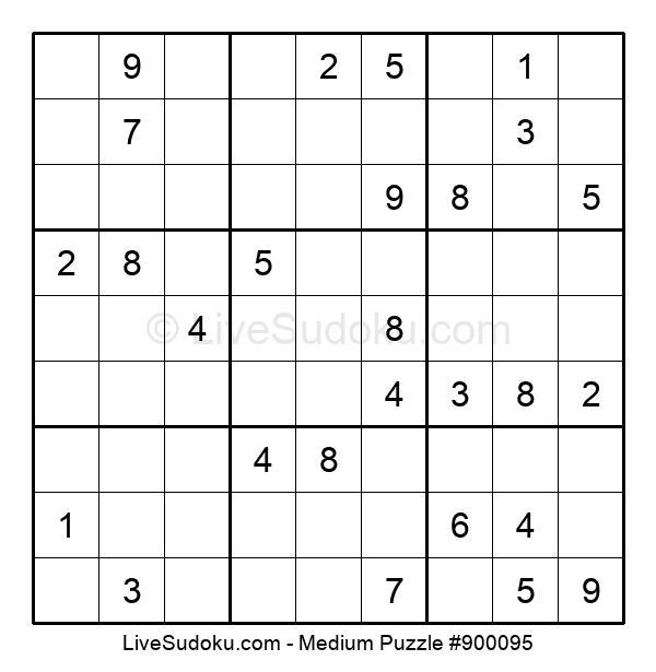 Medium Puzzle #900095
