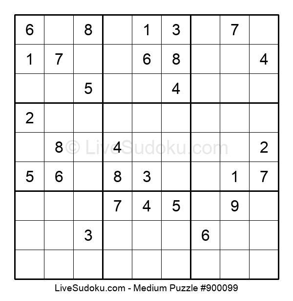 Medium Puzzle #900099