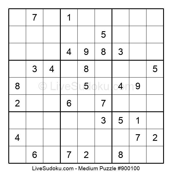 Medium Puzzle #900100