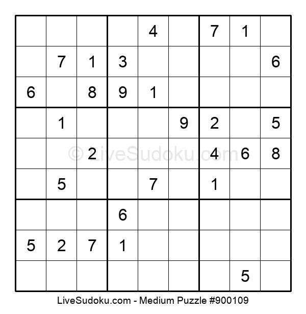 Medium Puzzle #900109