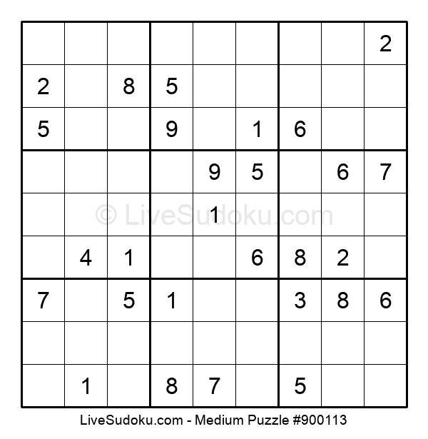 Medium Puzzle #900113
