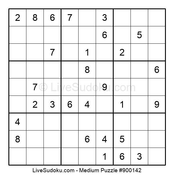 Medium Puzzle #900142