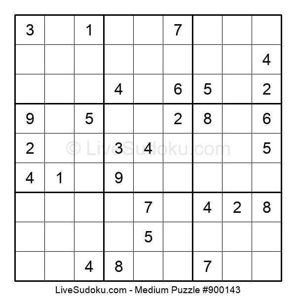 Medium Puzzle #900143