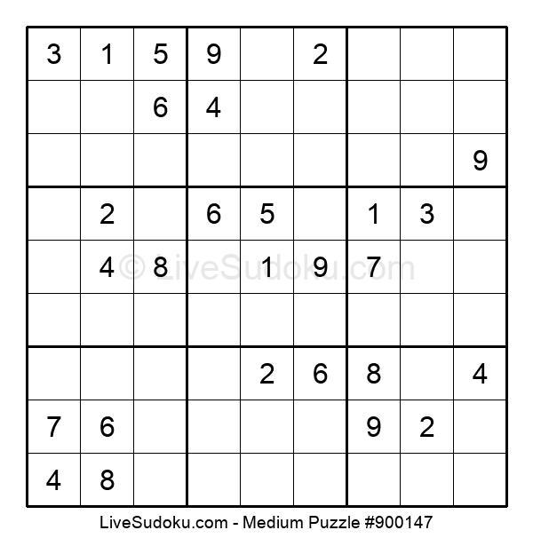 Medium Puzzle #900147