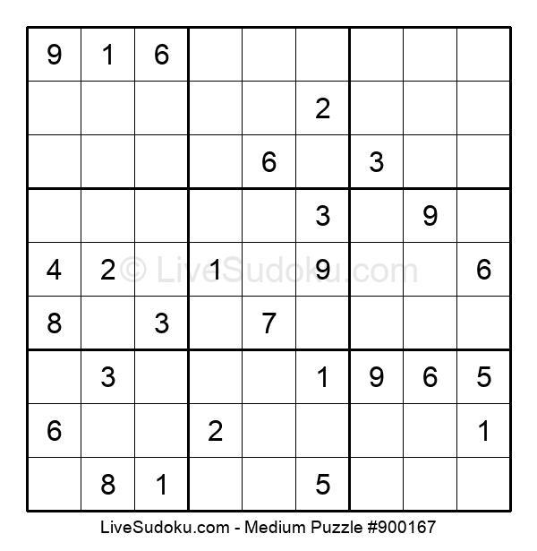 Medium Puzzle #900167