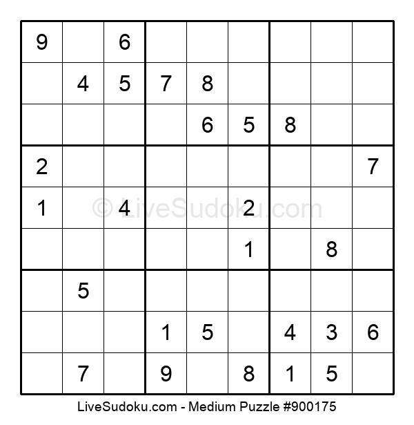 Medium Puzzle #900175