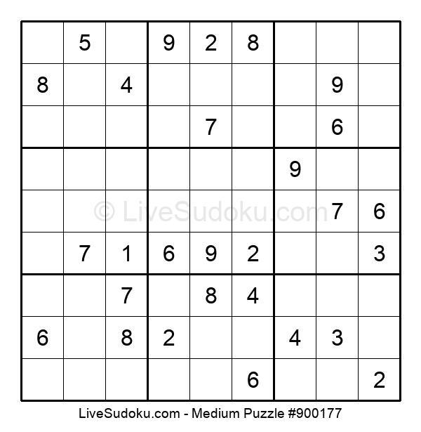 Medium Puzzle #900177