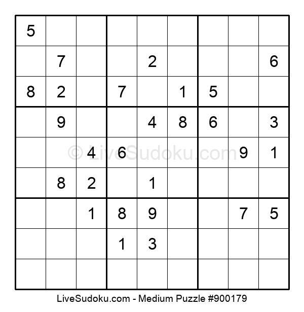 Medium Puzzle #900179