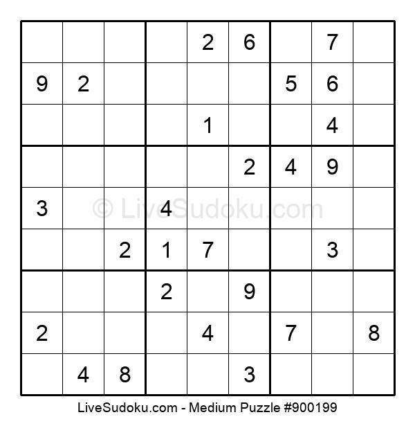Medium Puzzle #900199