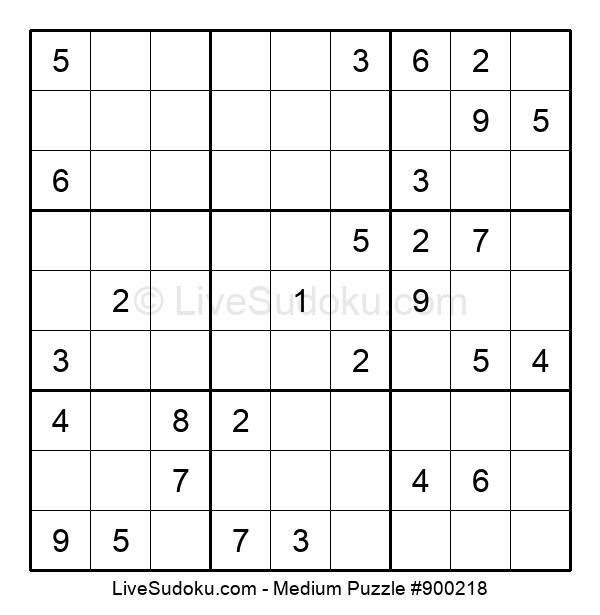 Medium Puzzle #900218