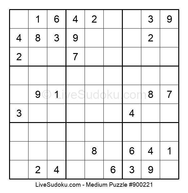 Medium Puzzle #900221