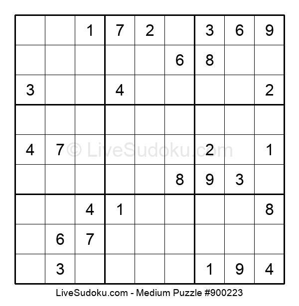 Medium Puzzle #900223
