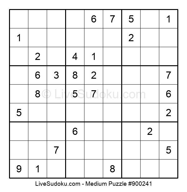 Medium Puzzle #900241