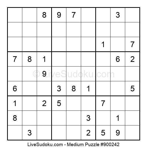 Medium Puzzle #900242