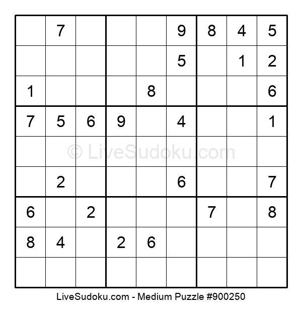 Medium Puzzle #900250