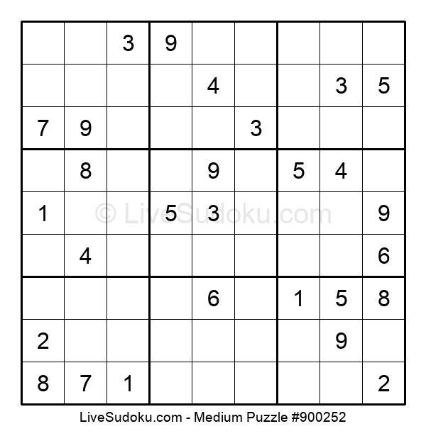 Medium Puzzle #900252