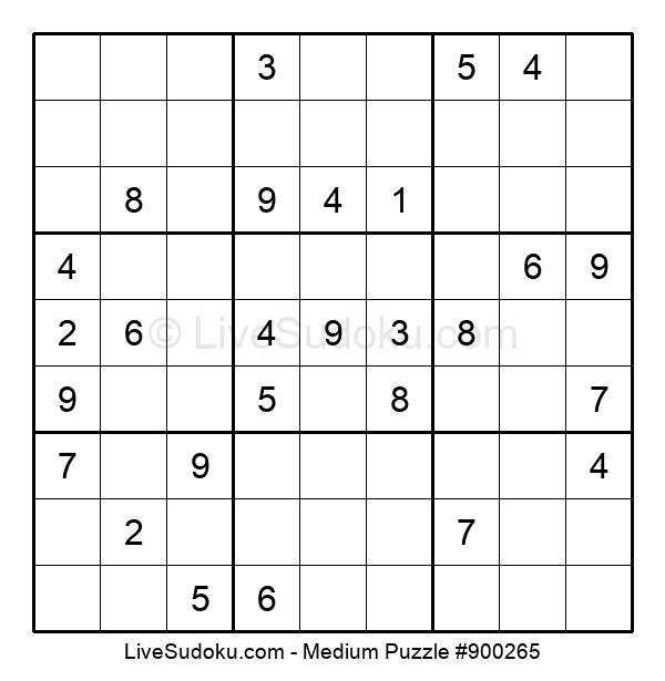 Medium Puzzle #900265