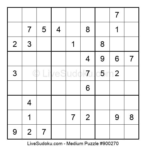 Medium Puzzle #900270
