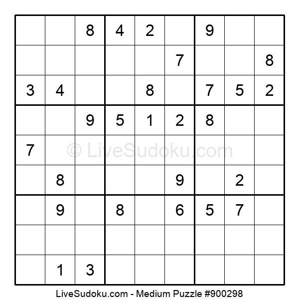 Medium Puzzle #900298