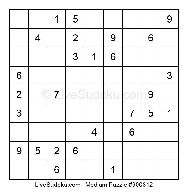 Medium Puzzle #900312